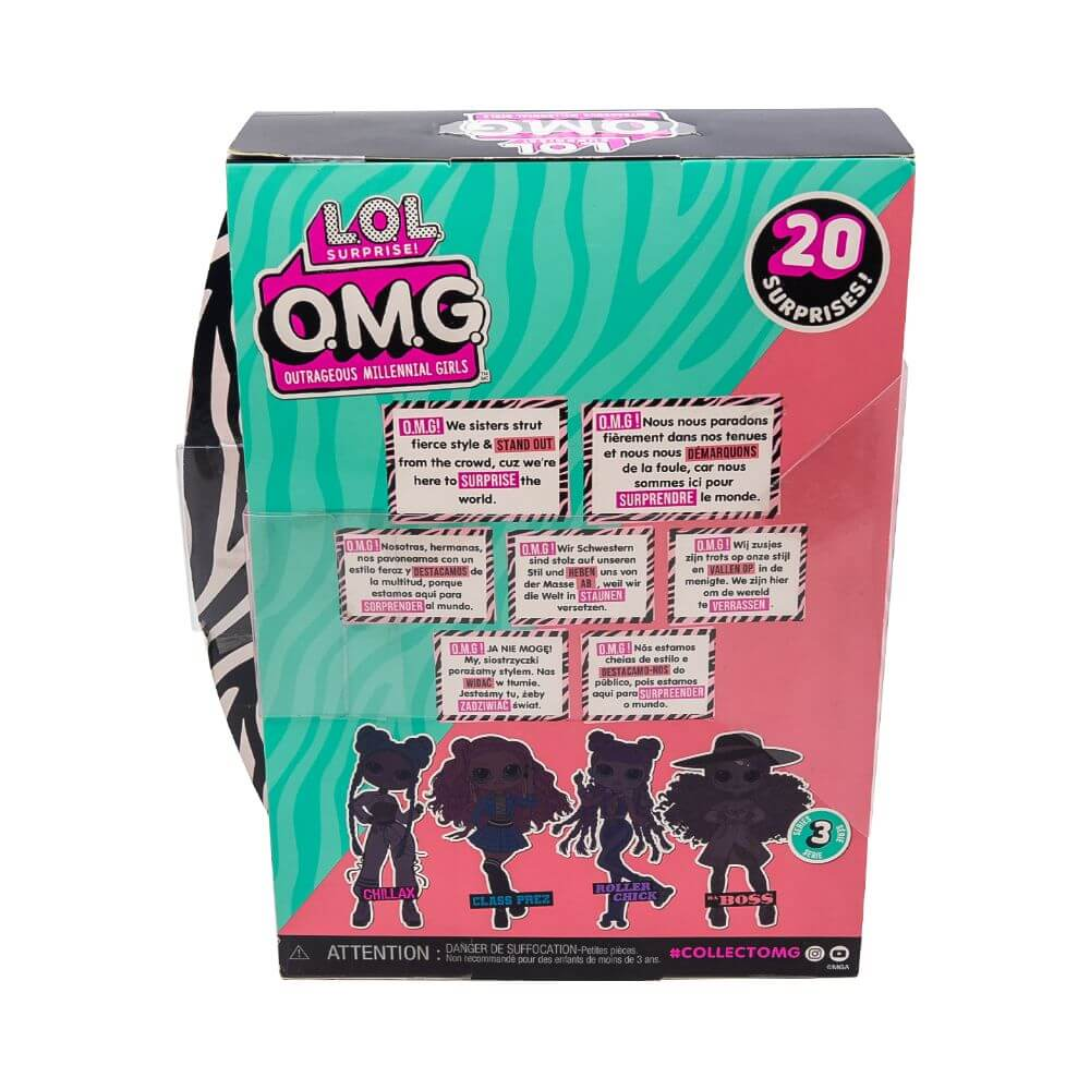Кукла LOL Surprise OMG Da Boss Fashion Doll с 20 сюрпризами (3 серия) - 3